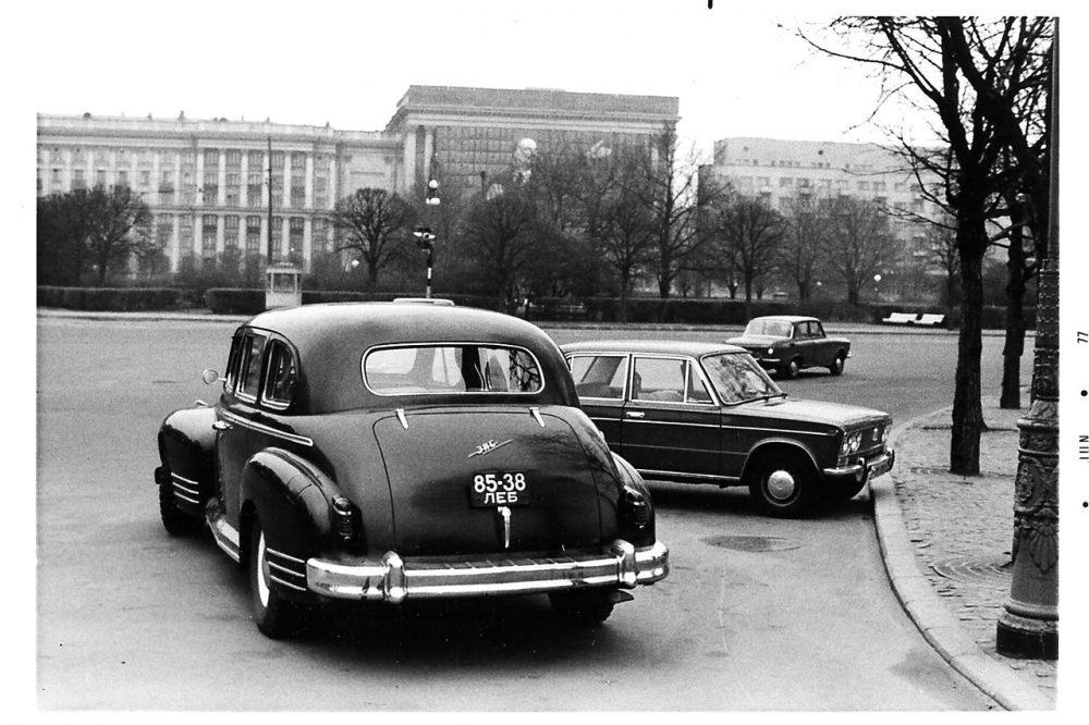 7-ая Советская в Ленинграде в 1976-1977 Майкл Нойберт в Ленинграде. Часть 5
