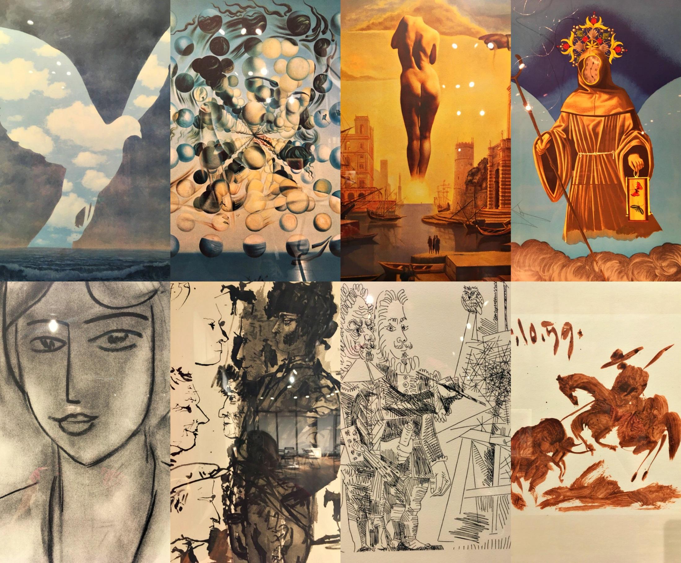 Выставка «Коллекционные литографии из собрания Арт банка»