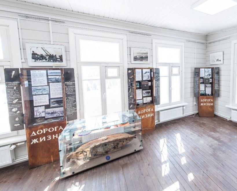 Виртуальный тур по музею «Кобона: Дорога жизни»