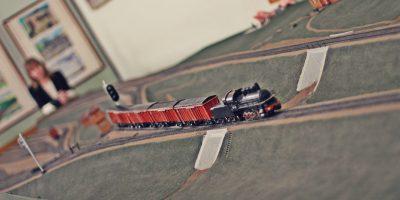 Постоянная экспозиция Музея железнодорожного транспорта «Макет механизированной сортировочной горки»