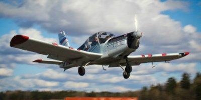 Высший пилотаж на спортивных самолётах