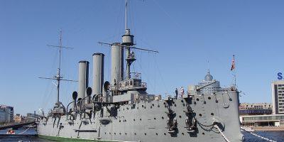 Экспозиция крейсера «Аврора»