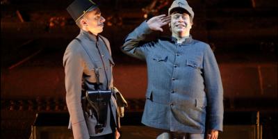 Спектакль «Швейк. Возвращение» в Александринском театре